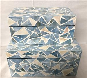 Mother of pearl -Boxes 9